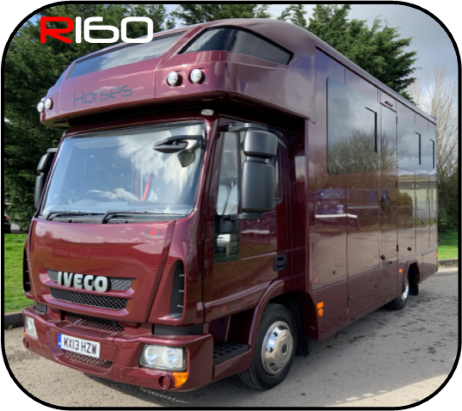NEW BUILD * COMPACT R160 16 FEET TWO HORSE ALUMINIUM COACHBUILT *MX13 HZW*
